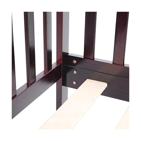 Bonnlo Contemporary Wooden Toddler/Kid Bed Frame Kids Bedroom Furniture 7