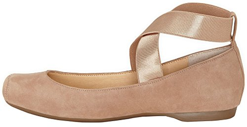 buy cheap hot sale Jessica Simpson Women's Mandalaye Ballet Flat Stella Nude Suede clearance manchester great sale clearance low shipping fee for cheap online hIFR9VICs7