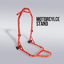 Front Triple Tree Motorcycle Stand Head Lift Bike Stem RED Honda Suzuki Yamaha