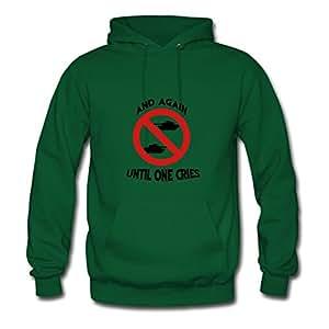 Cotton O-neck War And Tanks Women Customized X-large Hoodies Green
