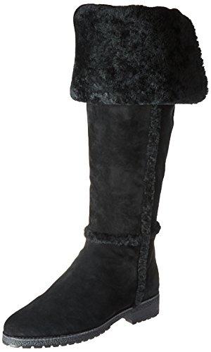 FRYE Women's Tamara Shearling Otk Winter Boot, Black, 7 M US by FRYE