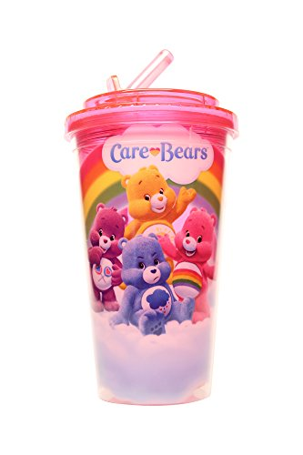 silver-buffalo-cg0184-american-greetings-care-bears-flip-straw-cup-16-oz-purple