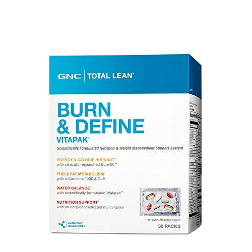 GNC Total Lean Burn and Define Vitapak, 30 Packs