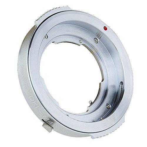 Haoge Lens Mount Adapter for Voigtlander Retina DKL Mount Lens to M42 42mm Screw Mount Camera