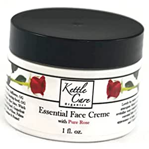 Essential Face Creme with Pure Rose, 1 oz.