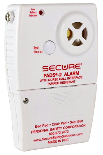 Secure SB-2 Wheelchair Seat Belt Patient Alarm Set - Fall and Wandering Prevention Caregiver Alert Aid by Secure (Image #4)