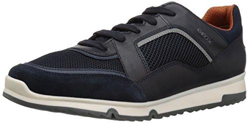 Geox Men's Wilmer 1 Sneaker, Navy, 42 M EU (9 US)