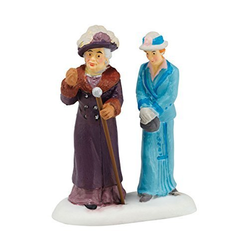 Department 56 Downton Abbey Series Dowager Countess and Young Fri Accessory, 2.64