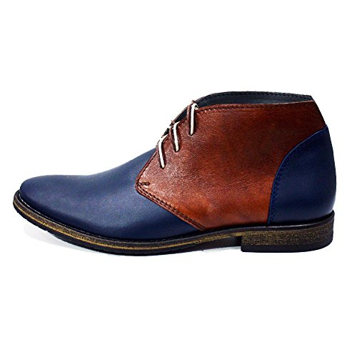 Modello Falcone - Handmade Colorful italiennes Chaussures en cuir Oxfords Casual Souliers de Formal Prime Unique Vintage Gift Lace Up Robe Hommes
