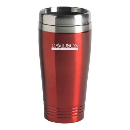 LXG, Inc. Davidson College - 16-ounce Travel Mug Tumbler - Red