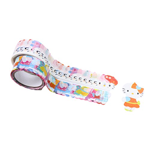 Bande Masking Roll Sticker Masking Tape - Hello Kitty - Modern - for Scrapbooking DIY (Hello Kitty Roll)