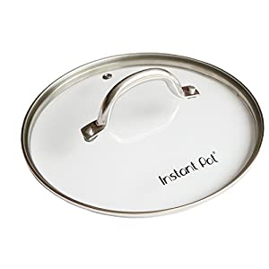 Genuine Instant Pot Tempered Glass lid, Clear – 10 in. (26cm) – 8 Quart
