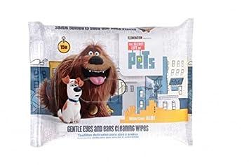Toallitas al aloe vera para la limpieza de ojos y orejas de perros y gatos. En envase para bolsillo: Amazon.es: Deportes y aire libre