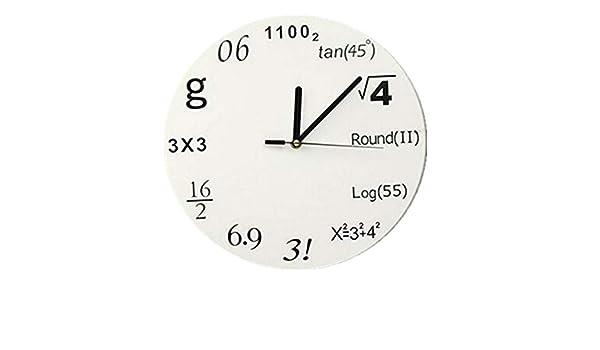 Amazon.com: Nazaka | Wall Clock | 1 Piece 2019 Wall Clock Quartz Watch DIY Clocks Reloj De Pared Horloge Mirror 3D Wall Stickers Sticker Living Room Europe: ...