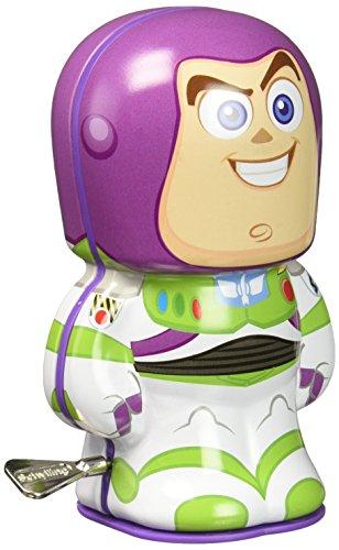 Disney Pixar Toy Story Buzz Light-Year Bebot Tin Wind Up Action Figure