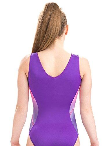 a6b675389130 GK Glitz   Glam Gymnastics Leotard (Pink to Purple)