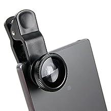 DURAGADGET 3-Piece Smartphone Camera Lens Attachments - Fish Eye, Wide Angle & Macro - Compatible with NEW Sony Xperia Z5 | Z5 Compact | Z5 Premium | M5 | C5 Ultra | Z4v | C4 | M4 Aqua