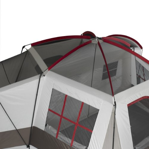 Amazon.com  Wenzel Montreaux 10 Person Family Dome Tent (Grey/White)  Sports u0026 Outdoors  sc 1 th 225 & Amazon.com : Wenzel Montreaux 10 Person Family Dome Tent (Grey ...