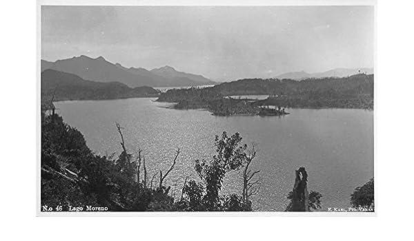 Lago Moreno Argentina Scenic View Real Photo Antique ...