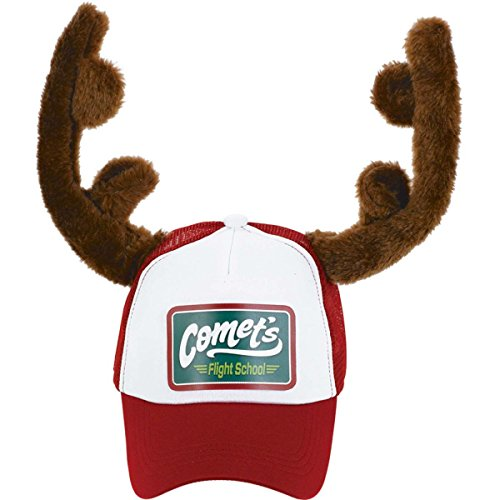 Christmas Party Hat with Reindeer Antlers