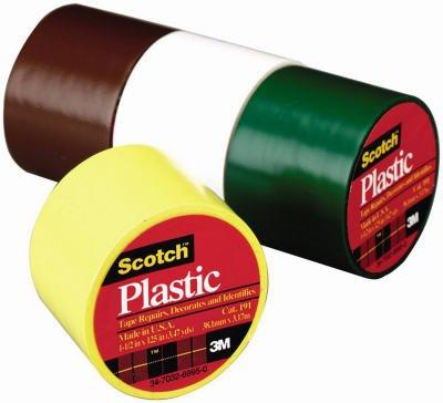 Plastic Brown Tape (Scotch Colored Plastic Tape)