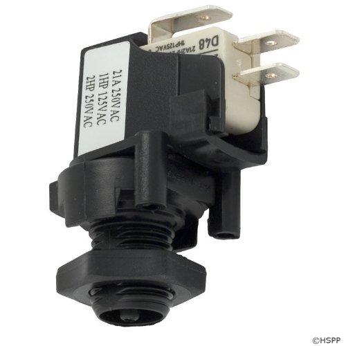 Air Herga (Air Switch, Herga, SPDT, 20A, thd, latch)