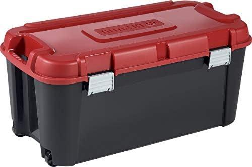 Allibert 229227 Totem - Caja de Almacenamiento con 2 Ruedas ...