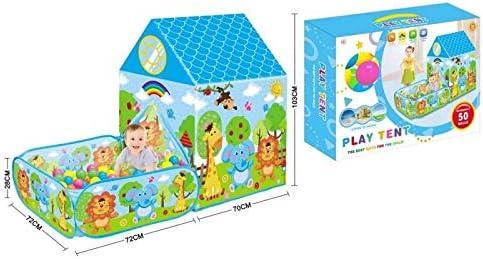 ATAA Casa con jardín y 50 Bolas Tienda de campaña para niños Casa con jardín y Bolas Incluidas: Amazon.es: Juguetes y juegos