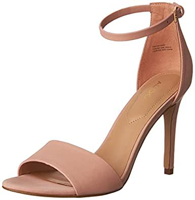 Aldo Women's FIOLLA Heeled Sandal, Light Pink, 6 M US