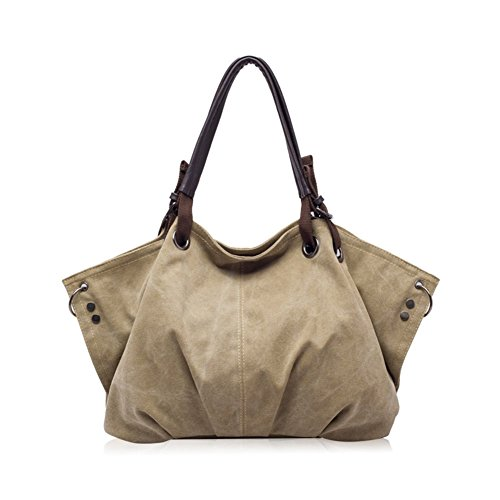 Yellow Rosewood Letter Holder (Walcy Fashionable Canvas Leisure Women's Handbag,Dumplings Type Dumplings)
