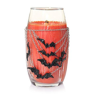 Yankee Candle Halloween Batty Bats Jar Candle Necklace