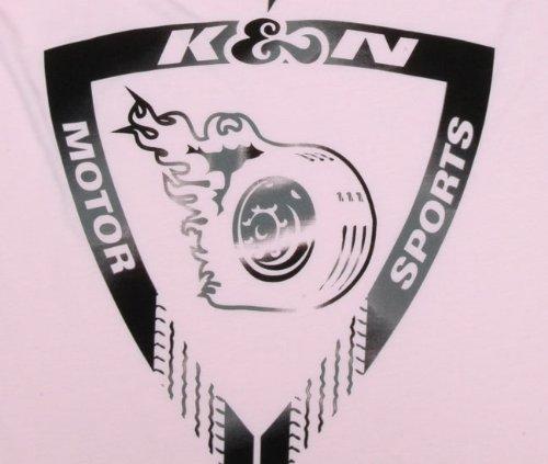Speed Logo K/&N Engineering Wind K/&N 88-7044-M Light Pink Medium Tank Top with Earth