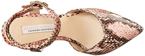 Chinese Laundry Kristin Cavallari Womens Cyprus Leather Pointed Toe Pumps Pink Python gQjezwdE