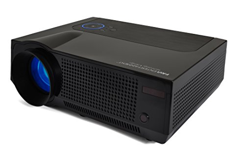 FAVI 4T Ultra-Bright LED LCD (HD 720p) Home Theater Projector - US Version (Includes Warranty) - Black (RIOHDLED4T-US1) by FAVI