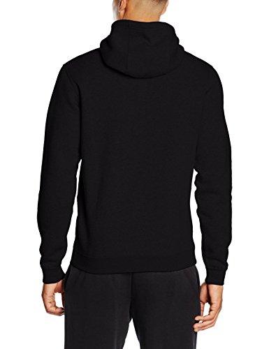 Nike M NSW Hoodie FZ FLC Club - Sudadera para hombre negro (black/Black/White)