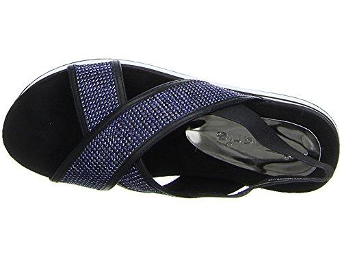 Tamaris  1-1-28703-38-893, chaussures compensées femme - bleu - bleu,