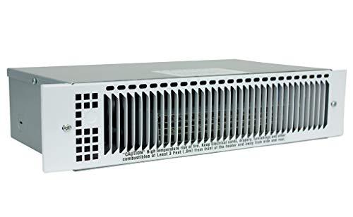 KING KT1215-MW-W 1500-Watt 120-Volt Multi-Watt Kickspace Heater, White