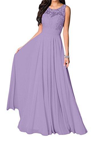 Missdressy - Vestido - trapecio - para mujer Lilac