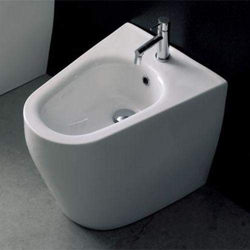 Scarabeo 8049/A Supported Ceramic Bidet, 44.09