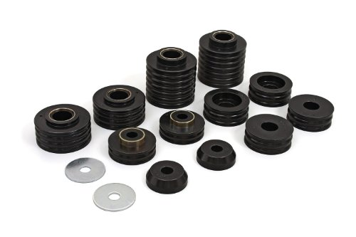 Mount Kit Explorer - Daystar, Ford Explorer Polyurethane Body Mounts, fits 1991 to 2001 2/4WD, KF04009BK, Made in America