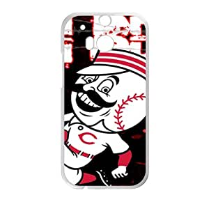 Baseball StylishHigh Quality Comstom Plastic case cover For HTC M8