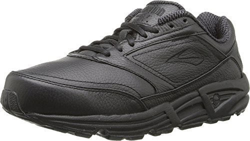 Brooks Women's Addiction, Black, 8.5 B - Medium (Best Walking Shoes For Pronation Control)