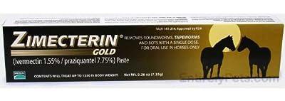 Merial Zimecterin Gold Dewormer Paste