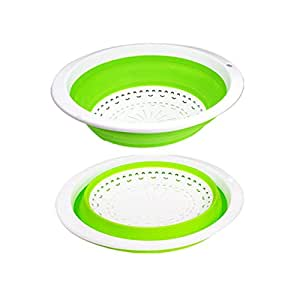 Padshow Collapsible Colander Non-Toxic Food Grade PP Strainer