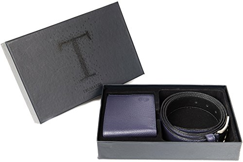 Trussardi Trussardi Men's Blue Men's Blue Belt Blu Gift Gift Belt Box Egadi q4dwdIA