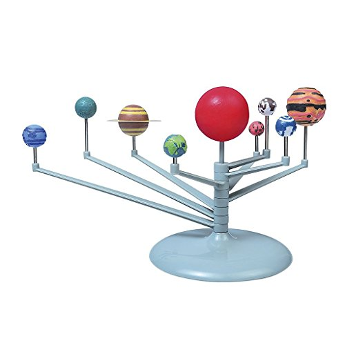 KEANER Lovely Gift DIY Kids Science Kit Solar System Planetarium Model