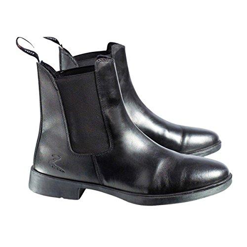 Horze Kilkenny Paddock Boots, Black, 10.5 - Sports Jodhpur Boot