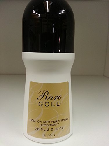 Avon Rare Gold Roll-on Anti-perspirant Deodorant Bonus Size 2.6 Fl. Oz.