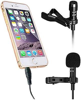 Microfono Inalambrico Bluetooth Teléfono Lavalier Micrófono Mini ...