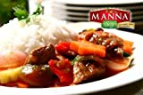 Manna Soy Gourmet Meatless Beef Goulash, NON-GMO, 4.4 Pound Family Pak, All Natural, Gluten Free, Shelf Stable, Pre-cooked, Pre-seasoned, Dairy Free, Egg Free, Sugar Free,- Even Kids Love It